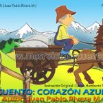 Corazón Azul - Cuentos Cortos de Reflexión | Masrelatosycuentos.com